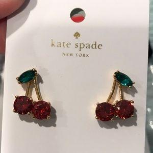 Kate Spade Ma Chérie Cherry Studs